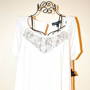 Almost famous white blouse